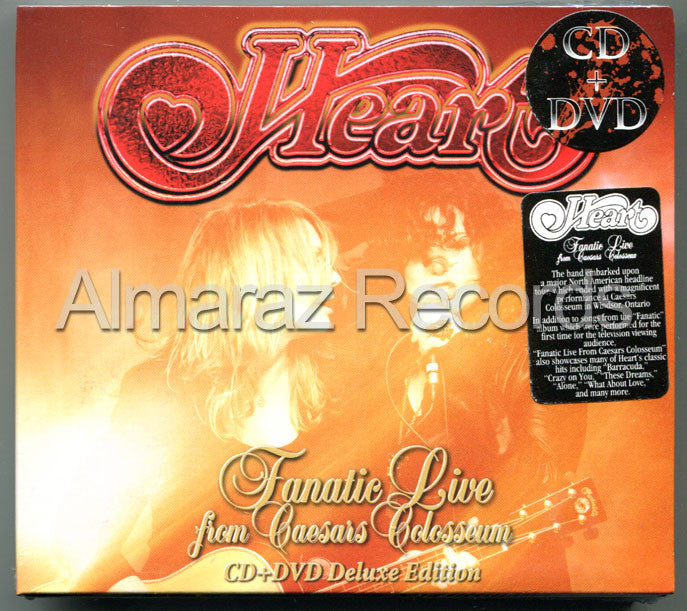 Heart Fanatic Live From Caesars Colosseum CD+DVD - Almaraz Records | Tienda de Discos y Películas  - 1