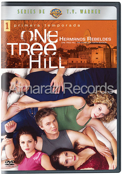 Hermanos Rebeldes Temporada 1 DVD - One Tree Hill - Almaraz Records | Tienda de Discos y Películas