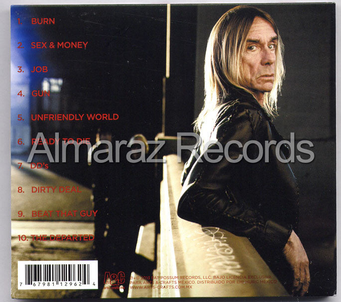 Iggy Pop & The Stooges Ready To Die CD - Almaraz Records | Tienda de Discos y Películas  - 2