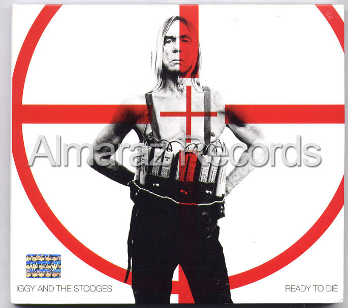 Iggy Pop & The Stooges Ready To Die CD - Almaraz Records | Tienda de Discos y Películas  - 1