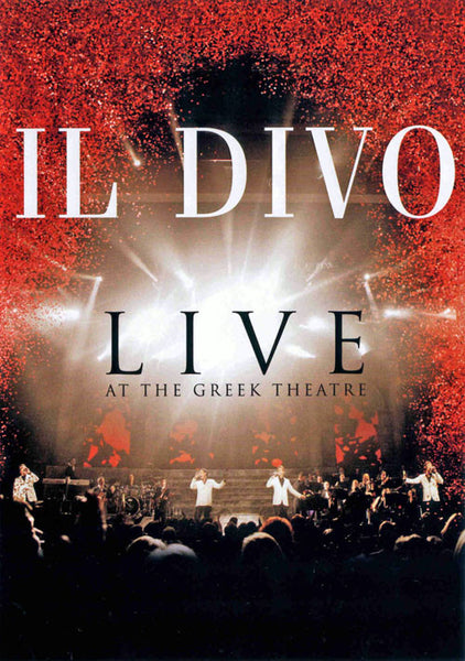 Il Divo Live At The Greek Theater DVD - Almaraz Records | Tienda de Discos y Películas