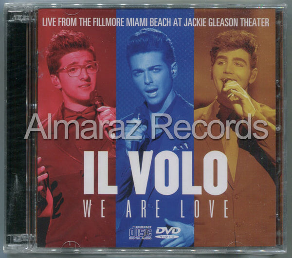 Il Volo We Are Love Live The Fillmore Miami At Jackie Gleason Theater CD+DVD