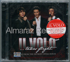 Il Volo Takes Flight Live From The Detroit Opera House CD+DVD - Almaraz Records | Tienda de Discos y Películas  - 1