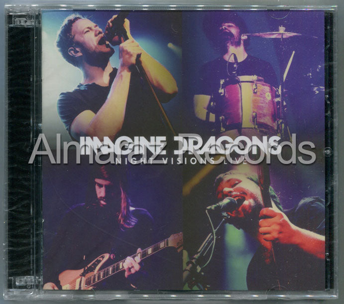 Imagine Dragons Night Visions Live CD+DVD
