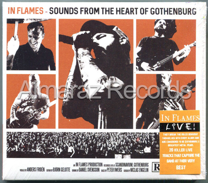 In Flames Sounds From The Heart Of Gothenburg 2CD - Almaraz Records | Tienda de Discos y Películas  - 1