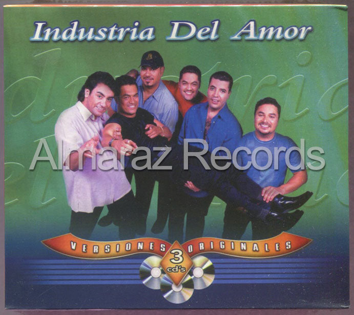 Industria Del Amor Versiones Originales 3CD