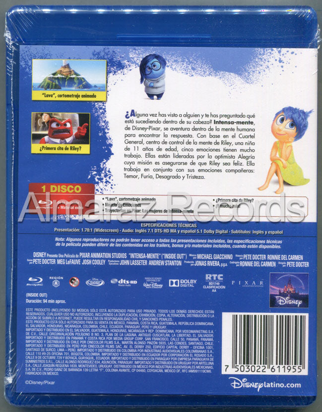 Intensa Mente Blu-Ray