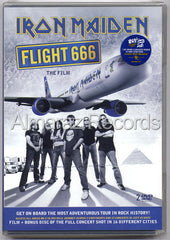 Iron Maiden Flight 666 The Film 2DVD - Almaraz Records | Tienda de Discos y Películas  - 1