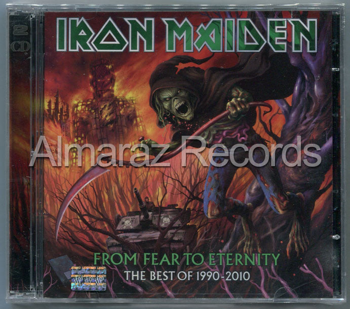 Iron Maiden From Fear To Eternity 2CD - Almaraz Records | Tienda de Discos y Películas  - 1