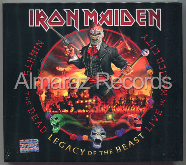 Iron Maiden Nights Of Dead Legacy Of Beast Live In Mexico 2CD
