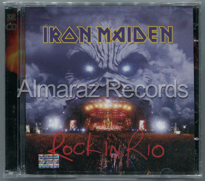 Iron Maiden Rock In Rio 2CD - Almaraz Records | Tienda de Discos y Películas  - 1