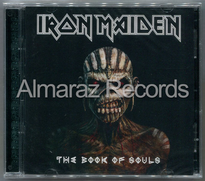 Iron Maiden The Book Of Souls 2CD