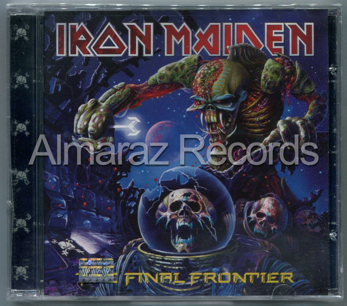 Iron Maiden The Final Frontier CD - Almaraz Records | Tienda de Discos y Películas  - 1
