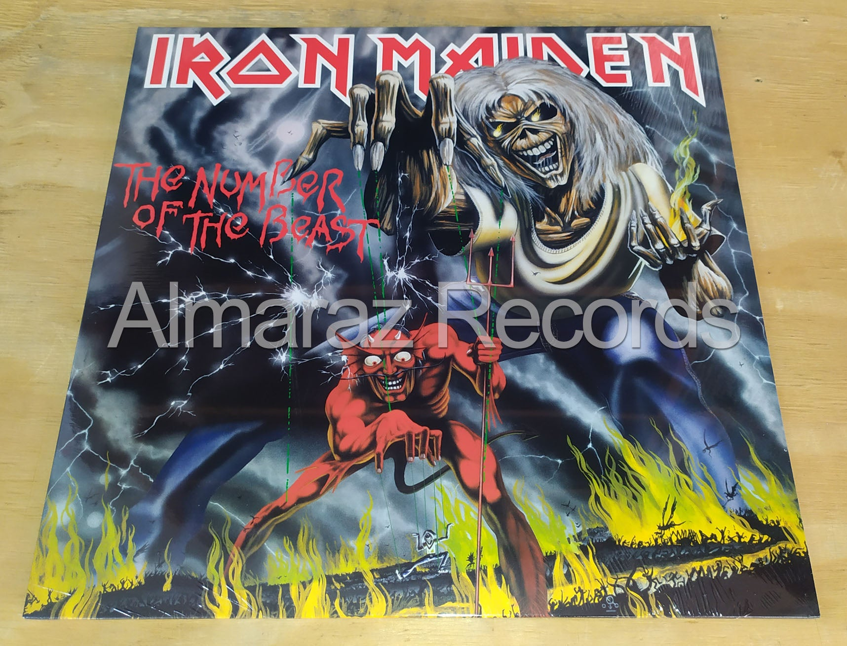 Iron Maiden The Number Of The Beast Vinyl LP