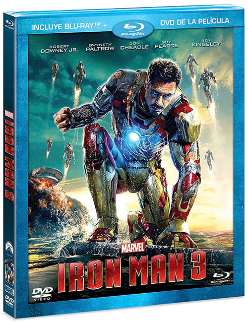 Iron Man 3 Blu-Ray+DVD