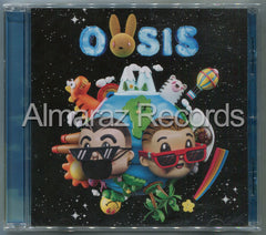 J. Balvin & Bad Bunny Oasis CD