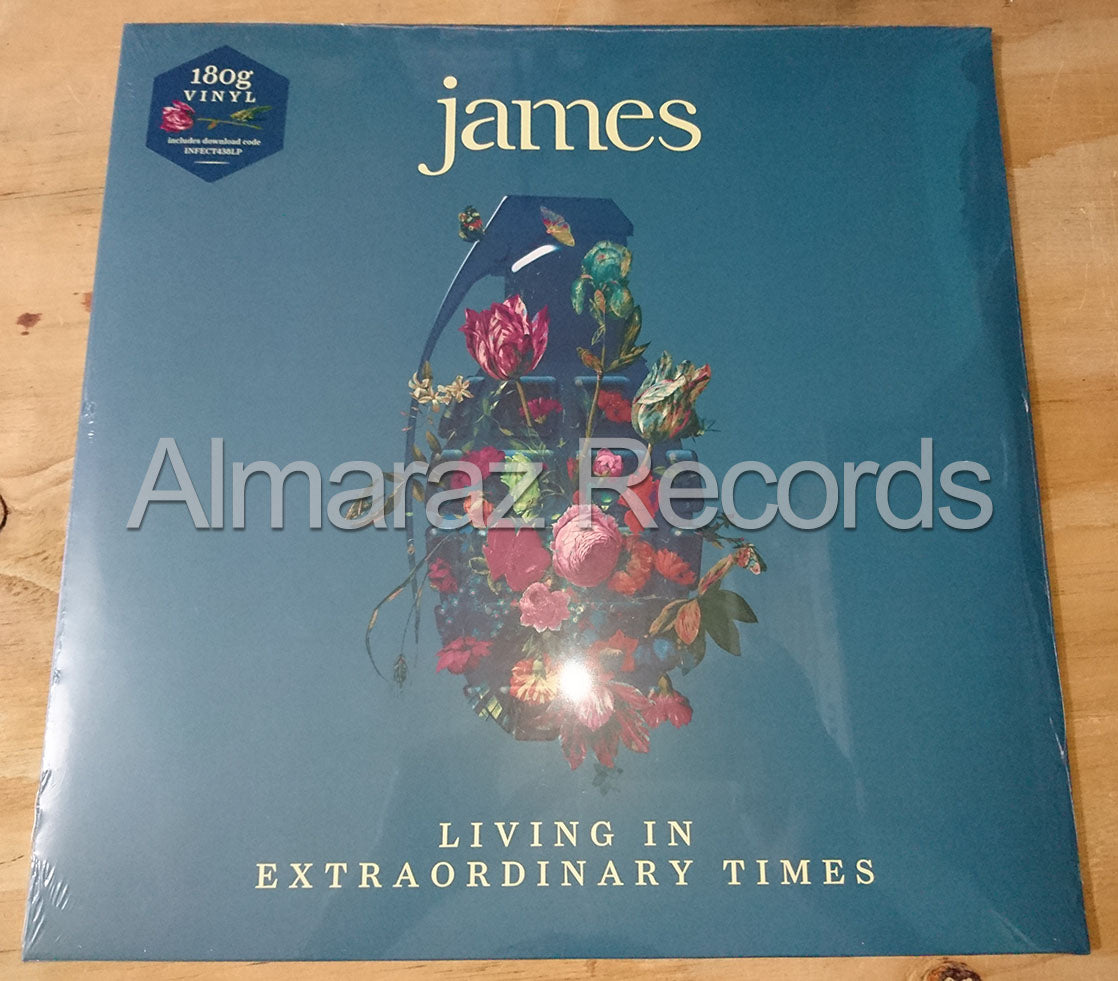 James Living In Extraordinary Times Vinyl LP