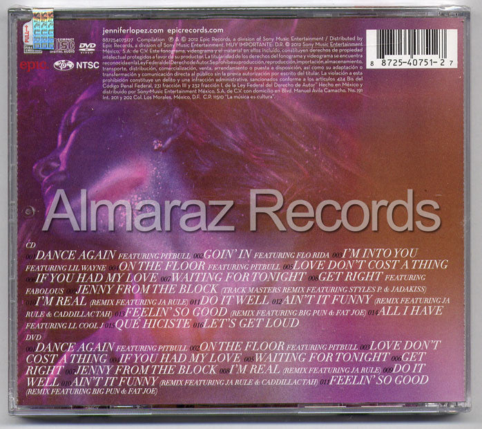 Jennifer Lopez Dance Again... The hits CD+DVD - JLO - Almaraz Records | Tienda de Discos y Películas  - 2