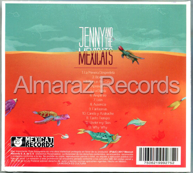Jenny And The Mexicats Mar Abierto CD