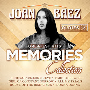 Joan Baez Greatest Hits Oldies Memories Collection CD - Almaraz Records | Tienda de Discos y Películas