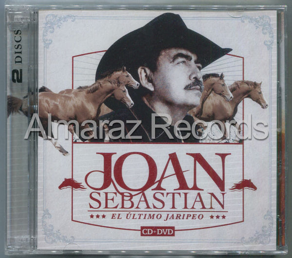 Joan Sebastian El Ultimo Jaripeo CD+DVD