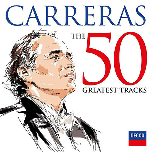 Jose Carreras The 50 Greatest Tracks 2CD - Almaraz Records | Tienda de Discos y Películas