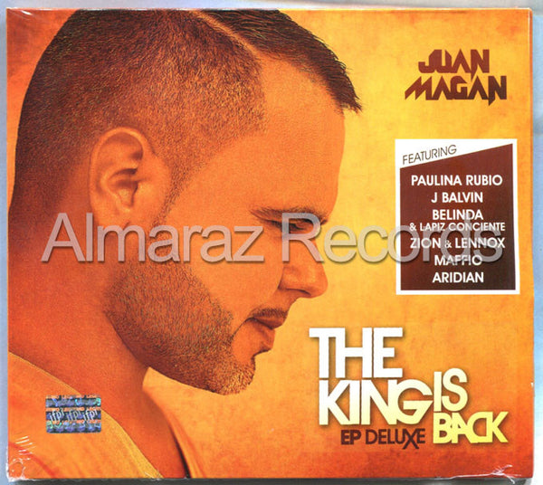 Juan Magan The King Is Back EP Deluxe CD - Almaraz Records | Tienda de Discos y Películas  - 1