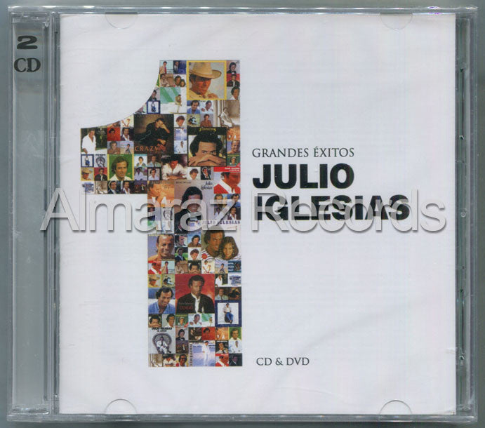 Julio Iglesias 1 Grandes Exitos CD+DVD