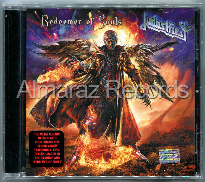 Judas Priest Redeemer Of Souls CD - Almaraz Records | Tienda de Discos y Películas  - 1