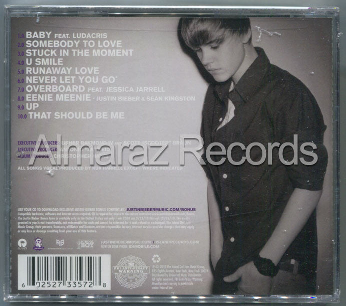 Justin Bieber My World 2.0 CD [Import] - Almaraz Records | Tienda de Discos y Películas  - 2