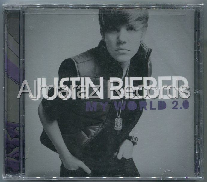 Justin Bieber My World 2.0 CD [Import] - Almaraz Records | Tienda de Discos y Películas  - 1