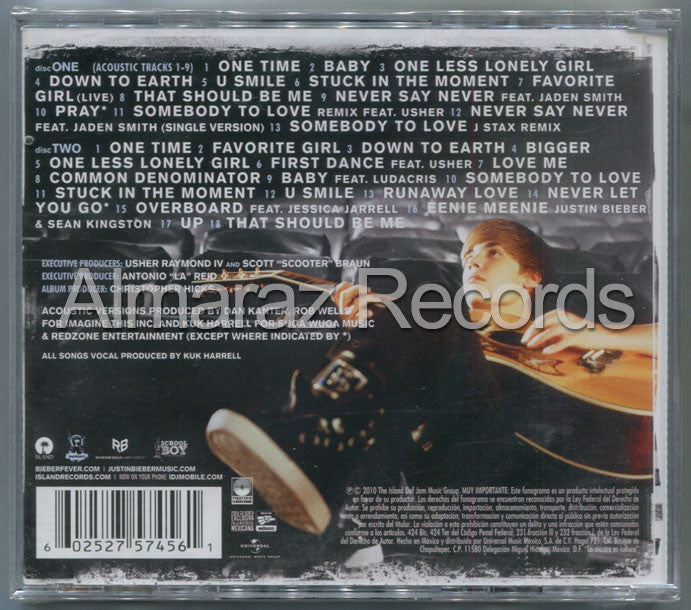 Justin Bieber My Worlds Collection 2CD - Almaraz Records | Tienda de Discos y Películas  - 2