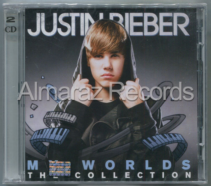 Justin Bieber My Worlds Collection 2CD - Almaraz Records | Tienda de Discos y Películas  - 1
