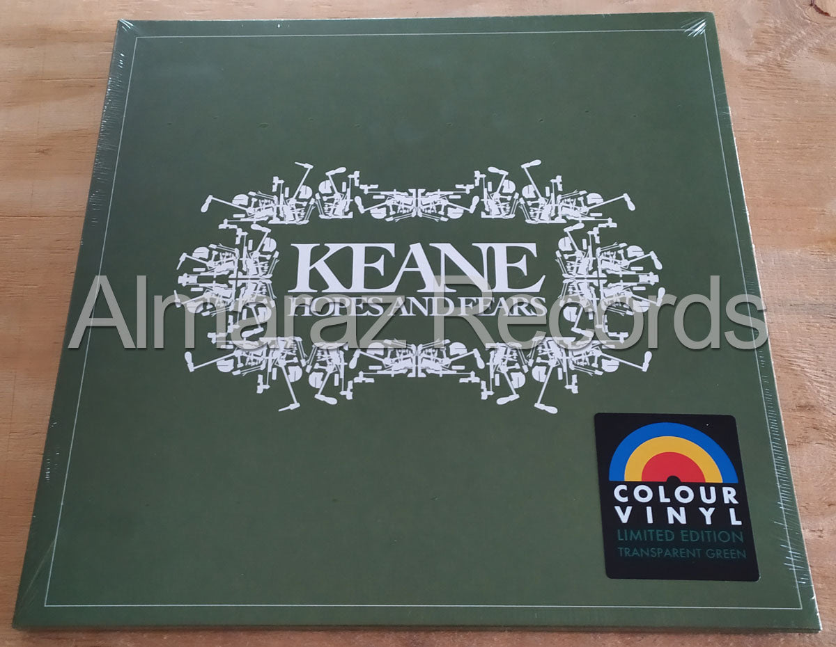 Keane Hopes And Fears Limited Edition Transparent Green Vinyl LP