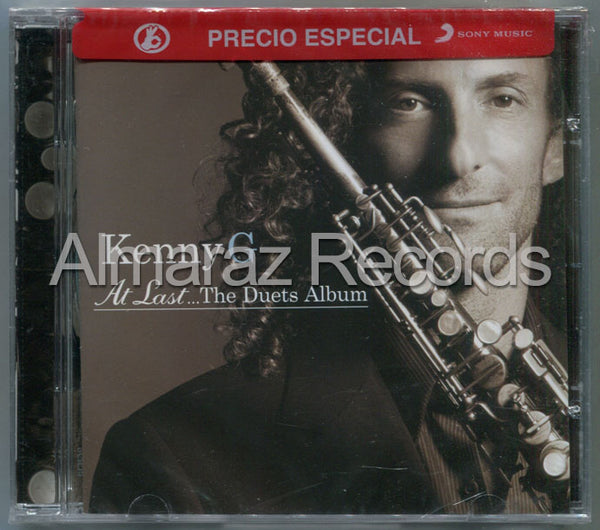 Kenny G At Last The Duets Album CD