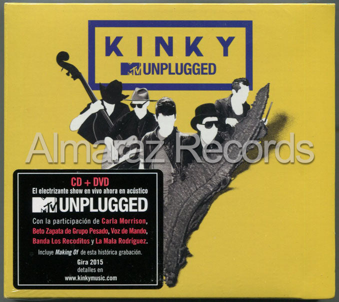 Kinky MTV Unplugged CD+DVD
