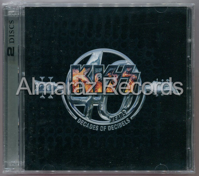Kiss 40 Years Decades Of Decibels 2CD - Almaraz Records | Tienda de Discos y Películas  - 1