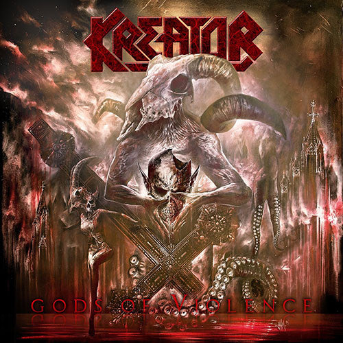Kreator Gods Of Violence CD