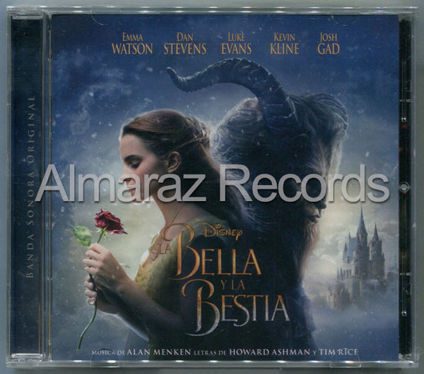 Disney La Bella Y La Bestia Soundtrack CD En Español