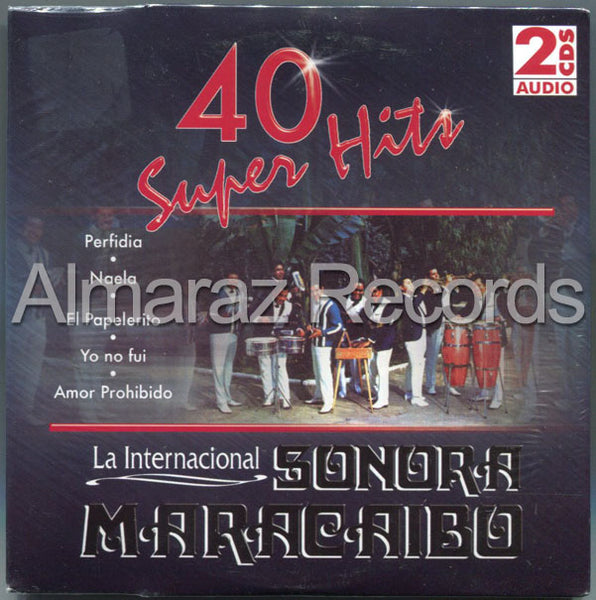 La Internacional Sonora Maracaibo 40 Super Hits 2CD