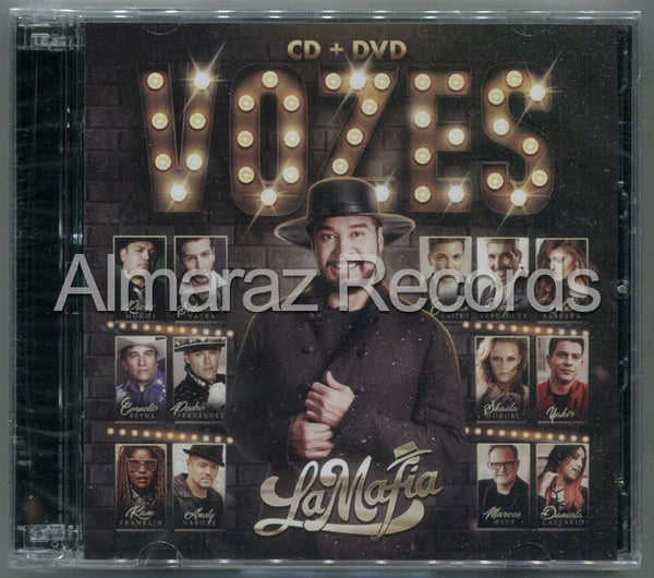 La Mafia Vozes CD+DVD