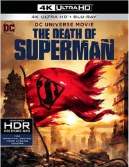 La Muerte De Superman Blu-Ray 4K Ultra HD + Blu-Ray