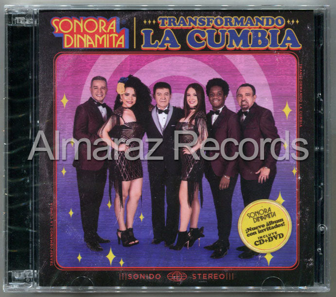 La Sonora Dinamita Transformando La Cumbia CD+DVD