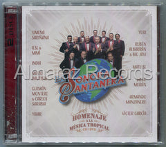 La Sonora Santanera Homenaje A La Musica Tropical CD+DVD