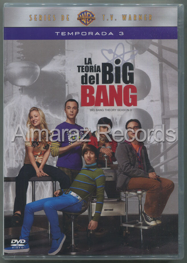 La Teoria Del Big Bang Temporada 3 3DVD