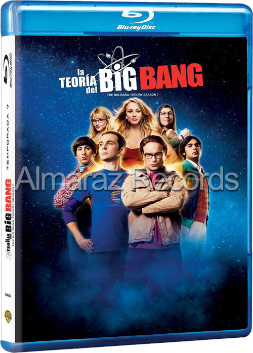 La Teoria Del Big Bang Temporada 7 2Blu-Ray - The Big Band Theory - Almaraz Records | Tienda de Discos y Películas