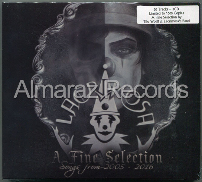 Lacrimosa A Fine Selection Songs From 2005-2016 2CD