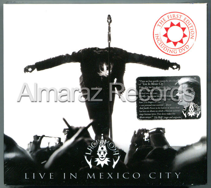 Lacrimosa Live In Mexico City The First Edition Mexican Digipak Fan Club Edition 2CD+DVD (Limited To 2000) - Almaraz Records | Tienda de Discos y Películas  - 1