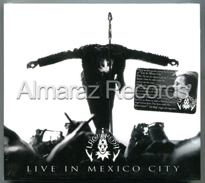 Lacrimosa Live In Mexico City Mexican Digipak Edition 2CD - Almaraz Records | Tienda de Discos y Películas  - 1