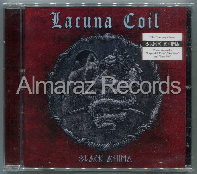Lacuna Coil Black Anima CD